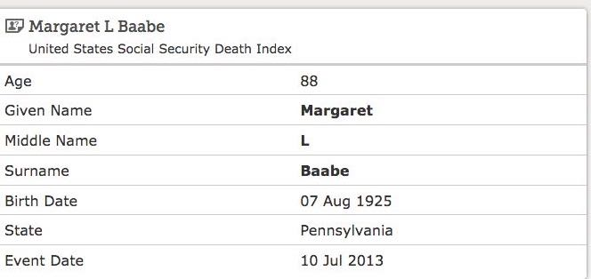 united states social security death index